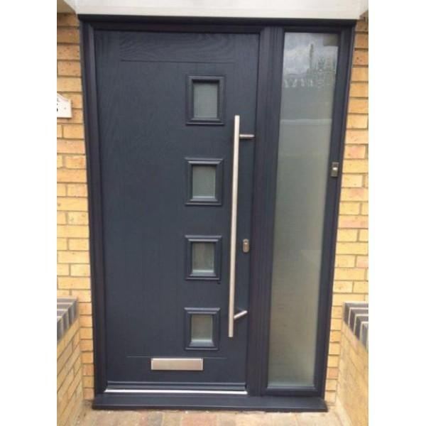 new style 435fb baee8 Truedor Turner 4 Lite Offset Composite Door