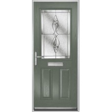 DoorCo Lytham composite door with Thorn Cliff Clear glazing