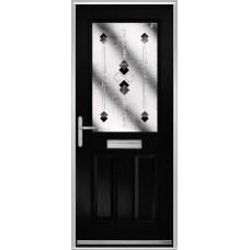 DoorCo Lytham composite door with Symphony glazing