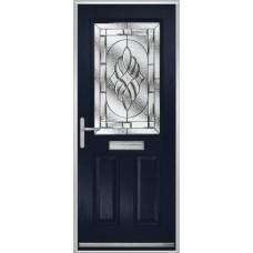 DoorCo Lytham composite door with Elegance glazing