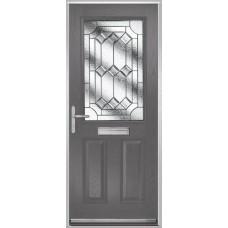 DoorCo Lytham composite door with Simplicity glazing