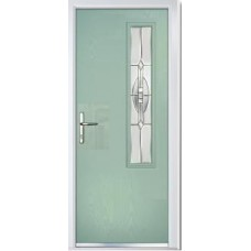 DoorCo Augusta Right Lever Handle composite door
