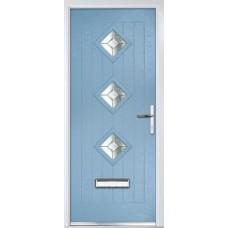 DoorCo Belfry Three Lever handle Composite Door
