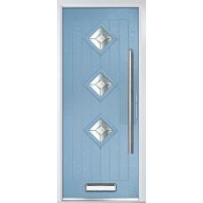 DoorCo Belfry Three Bar handle Composite Door
