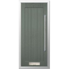 DoorCo Farmhouse Bar Handle  composite door