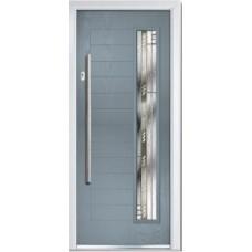 DoorCo Monza Right Bar handle composite door