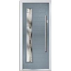 DoorCo Monza Left Bar handle composite door