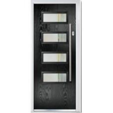 DoorCo Oakmont Bar Handle  composite door