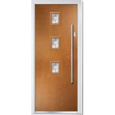 DoorCo Seminole Three Centre Bar handle composite door