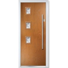 DoorCo Seminole Three Left Bar handle composite door