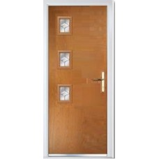 DoorCo Seminole Three Left Lever handle composite door