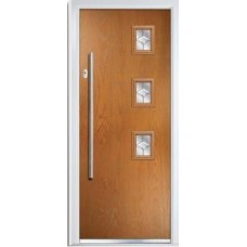 DoorCo Seminole Three Right Bar handle composite door