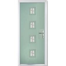 DoorCo Seminole Four Centre Lever handle composite door