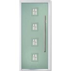 DoorCo Seminole Four Centre Bar handle composite door