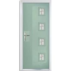 DoorCo Seminole Four Right Lever handle composite door