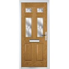 DoorCo Troon Lever Handle composite door