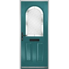 DoorCo Turnberry composite door with Diamond Cut glazing