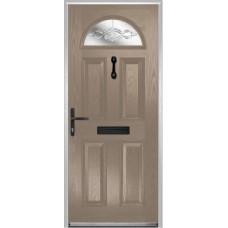 DoorCo Portrush Composite door with FrenchGlazing