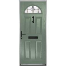 DoorCo Portrush Composite door with Caledonian Glazing