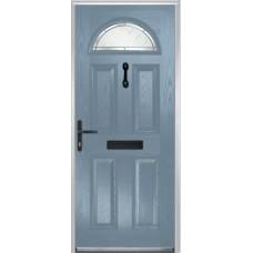 DoorCo Portrush Composite door with Diamond Cut Glazing