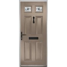 DoorCo Muirfield  Composite door with Modena Glazing
