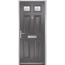 DoorCo Muirfield  Composite door with French Glazing
