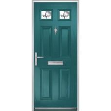 DoorCo Muirfield  Composite door with Designer Etch Glazing