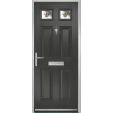 DoorCo Muirfield  Composite door with Fleur Glazing