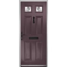 DoorCo Muirfield  Composite door with Caledonian Glazing