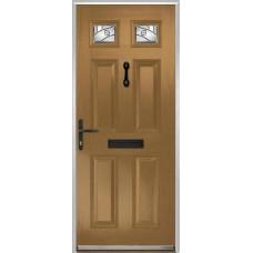 DoorCo Muirfield  Composite door with Abstract Glazing