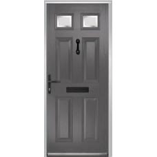 DoorCo Muirfield  Composite door with Kensington Glazing