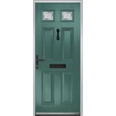 DoorCo Muirfield  Composite door with Diamond Cut Glazing
