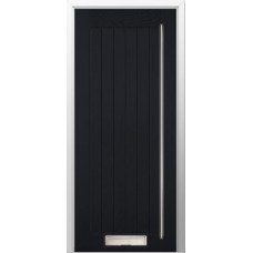 DoorCo Farmhouse Full Height Bar Handle  composite door