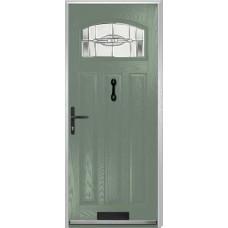 DoorCo St Andrews Composite Doors With Reflections Glazing