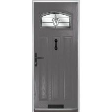 DoorCo St Andrews Composite Doors With Designer Etch Glazing