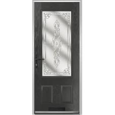DoorCo Gleneagles composite door with French Glazing