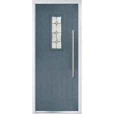 DoorCo Sunningdale Bar Handle composite door