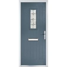 DoorCo Sunningdale Lever Handle composite door